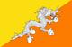Bhoutan Flag
