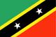Saint Kitts et Nevis Flag