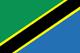 Tanzanie Flag